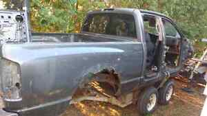 Parting out 2 dodge ram 1500 4x4 trucks call for prices