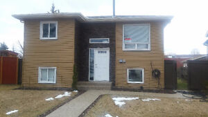 Renovated 3 bdrm house w/ large 2 car garage in Millwoods