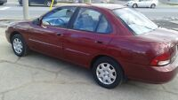 2002 Nissan  Sentra with 123000km