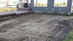 Landscaping and General Skid Steer Services