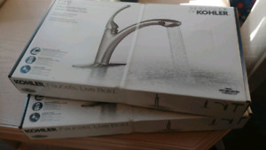 Kohler pullout kitchen faucets (Brand new in boxes)