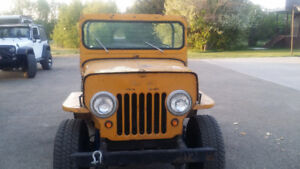 1952 Jeep Willys Convertible