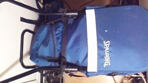 Spalding baby or child backpack carrier and free standing chair Stratford Kitchener Area image 3