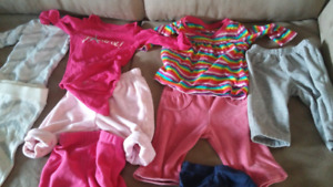 Baby girl clothing good condition