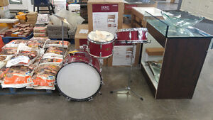Vintage Japanese Crown Drum Set