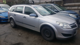Vauxhall astra estate 2007 silver 1.3cdti breaking for parts
