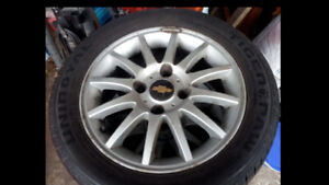 195/55R15 Tires and rims