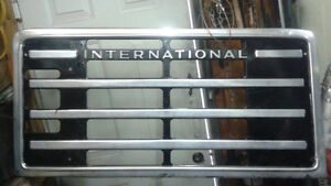 Awesome wall art for man cave Large International truck grill