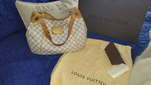 Authentic Louis Vuitton Galliera PM in Damier  Azur