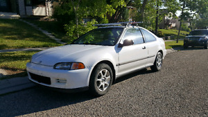 For sale 95 honda civic $1950 obo...