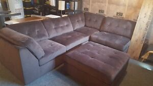 Sectional And Ottoman 2 Months Old