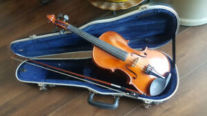 Violin Outfit - 4/4 Size - with case