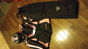 Pro Star Snowmobile Outfit and Helmet