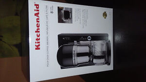 Brand New In Box High End Kitchen Aid. Pour Over Coffee Brewer