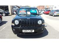 2007 JEEP PATRIOT 2.0 CRD Diesel Limited From GBP5,995 + Retail Package