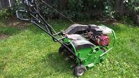Aération de pelouse ( gazon)