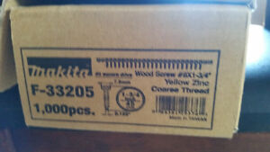 Makita Wood Screws for gun 1-3/4""