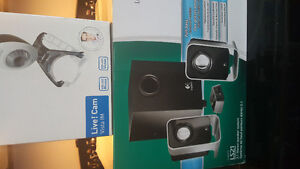 Speaker System and Webcam