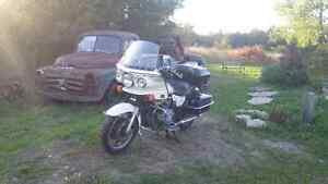 1983 Kawasaki KZ 1000P Retired Police Bike