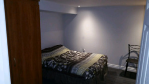Basement suite for rent available march1