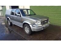 Ford Ranger 2.5TDdi Crewcab 4x4 Pickup XLT Double Cab 04 reg with Leather