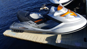 2008 RXT 255 hp SeaDoo with Trailer - 110 hours