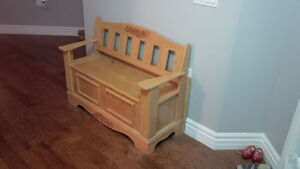 Handcrafted Deacon Bench - NEW Kitchener / Waterloo Kitchener Area image 2