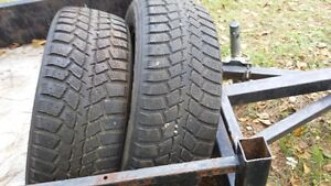TWO WINTER TIRES 195-65-15