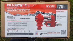Fill rite tidy tank fuel pump 20 rpm new in box