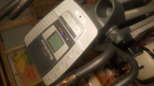 Nordictrack eliptical. Barely used