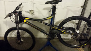 Cannondale rush with the lefty Cambridge Kitchener Area image 2