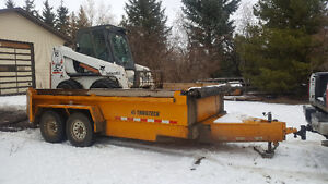 Bobcat/Trailtech Dump Trailer