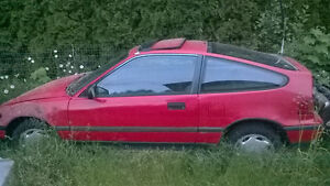 1988 Honda CRX Si Pictures Coming