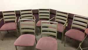 Chairs. Ideal for office waiting room.