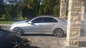 2011 mercedes e63 amg performance package