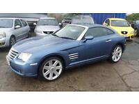 2004 Chrysler Crossfire 3.2 auto low miles only £2699