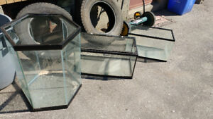 3 tanks fish or reptile take all or one make me an offer