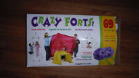 Crazy Forts - 69 Pieces - Used Once
