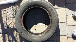Set of 4 Firestone winter tires + 1 extra. 14 inch