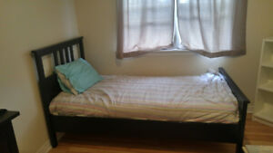 Ikea Hemnes Twin Bed Set