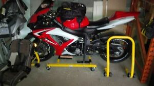 Motorcycle Storage Dolly - designed for 2007 GSXR 600