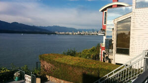 Point Grey Road Kitsilano Oceanfront!