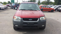 2004 Ford Escape, Crossover SAFETY&E-TEST 3995$