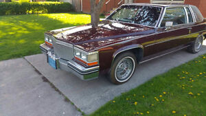 Bordeaux red 1980 Coupe Deville $4500 O.B.O