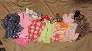 Lot of baby girl clothes age 0-6 months #2