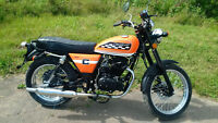 **$25 per WEEK**  250cc MOTORCYCLE - CCW THA ACE - RETRO!! NICE!