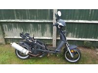 JM Star motorbike 125cc spares or repair