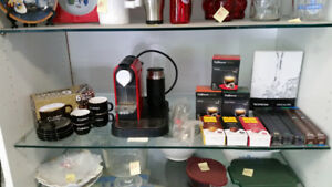 expresso machine with everything
