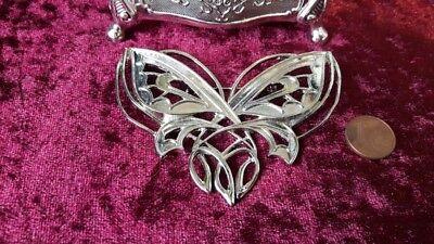 Arwen Brosche Schmetterling Herr der Ringe Jugendstil gothic Kostüm keltisch vgt