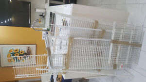 White Wire Shelves for  closets for sale in various sizes